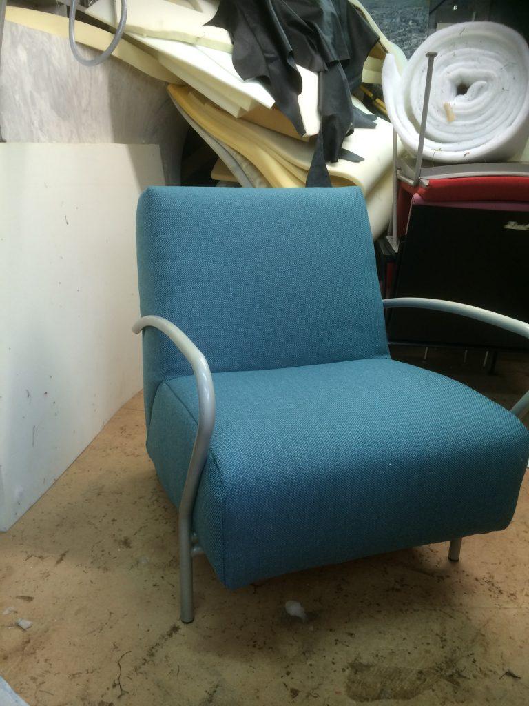 Meubels stoffering stoel